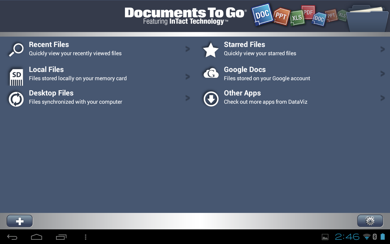 documents to go 30 main app para android With app documents to go android