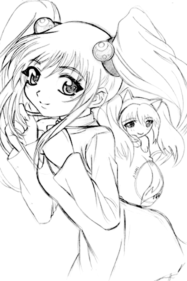 How to Draw Anime Lineart with a PC Mouse - Photoshop CS6 ...