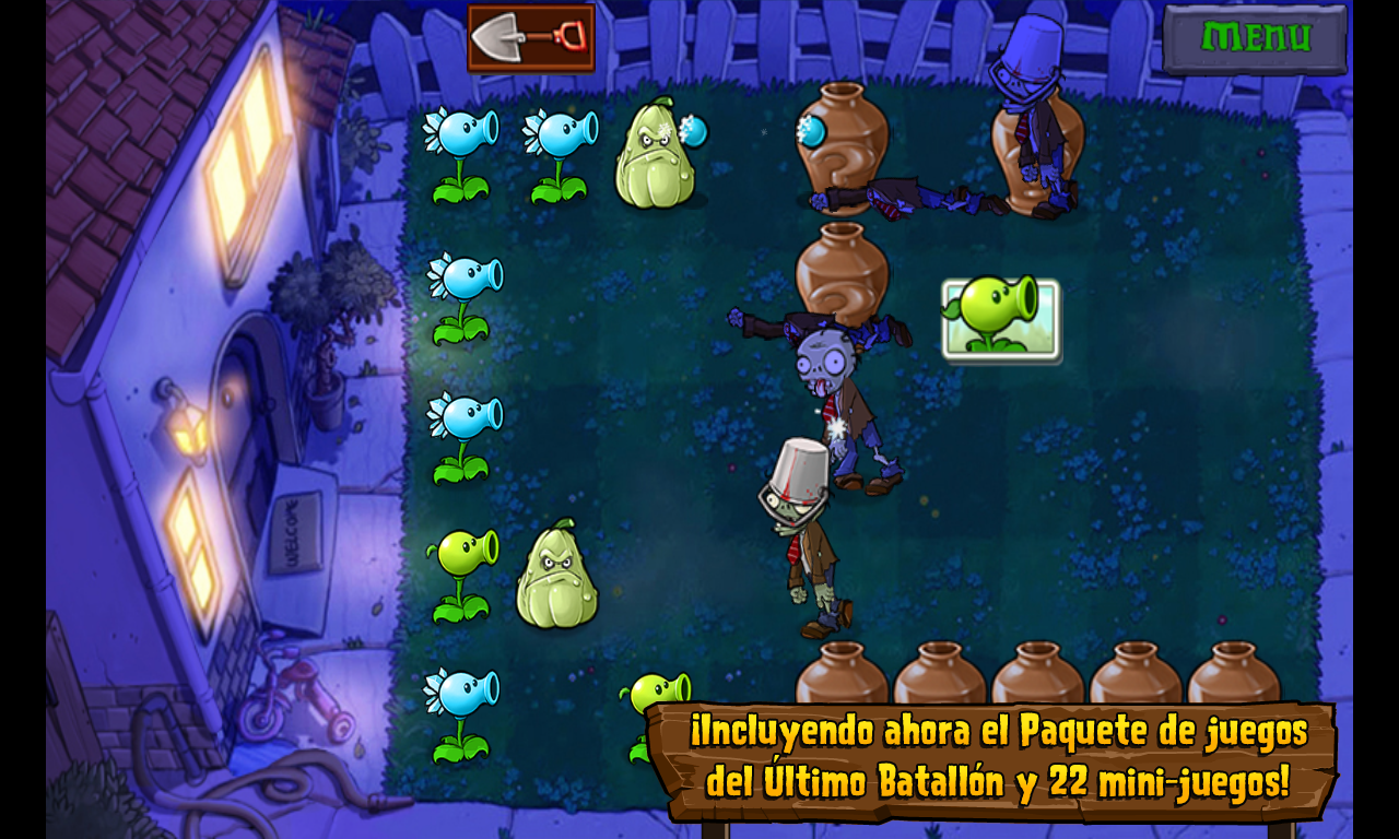 Android - Games: Plants vs Zombies