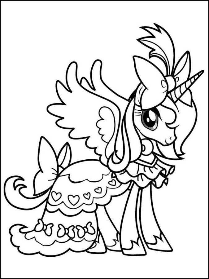 Little Pony Coloring Book Para Android