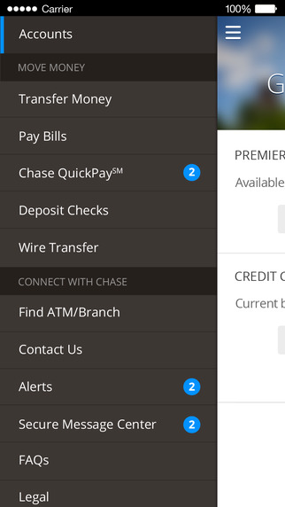 Wireless Internet Service Provider >> Chase Mobile℠ para iOS